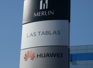 Totem Las Tablas Merlin Huawei